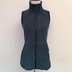 Lululemon Teal Vest Full Zip Size 4